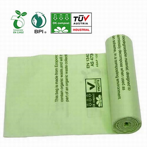 Compostable Garbage Bag in roll