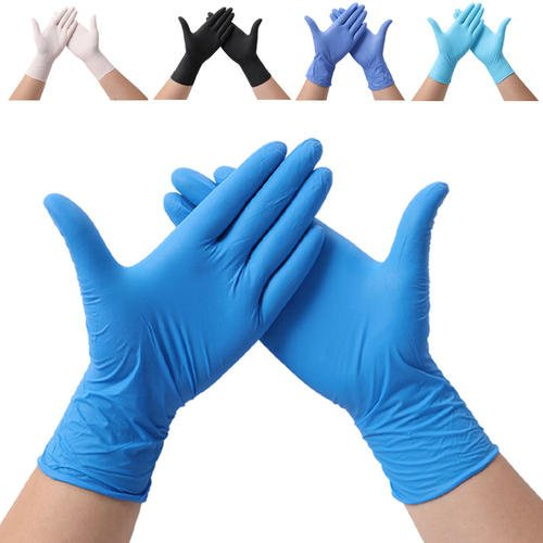Disposable Nitrile Latex Vinyl Gloves